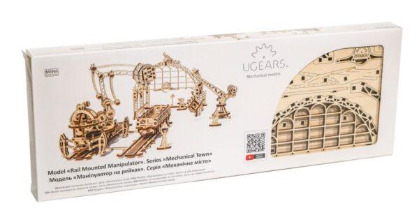 Manipulateur Ferroviaire – Puzzle 3d Mécanique en bois – Ugears France + 7