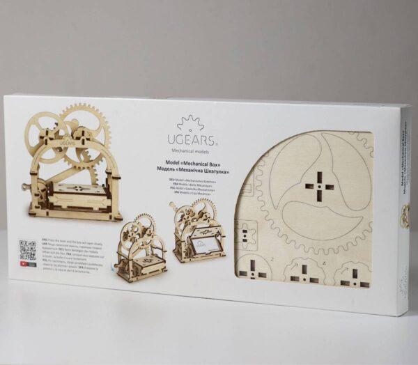 Boite mécanique – Puzzle 3d Mécanique en bois – Ugears France + 7