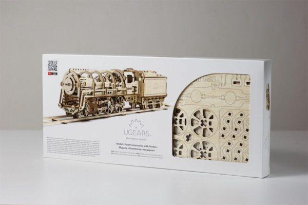 Locomotive 460 UGEARS – Puzzle 3d Mécanique + 9