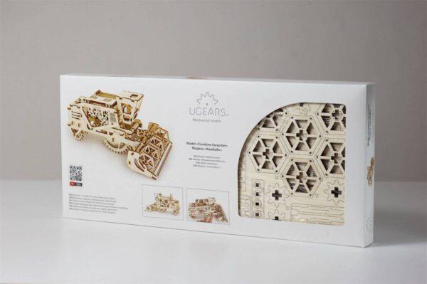 Moissonneuse-batteuse – Puzzle 3d Mécanique en bois – Ugears France + 8