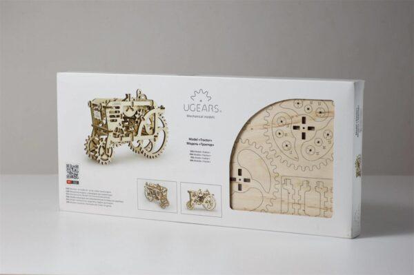 Tracteur – Puzzle 3d Mécanique en bois – Ugears France + 10
