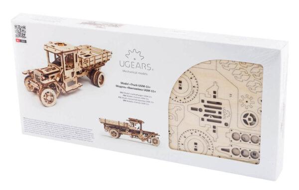 """Pack """"Rouler des Mécaniques"""" – Puzzles 3D Mécaniques – Ugears France + 10"""