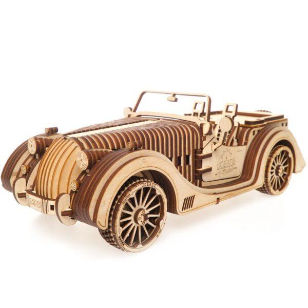 Roadster VM-01-Ugears-puzzle 3d mécanique en bois