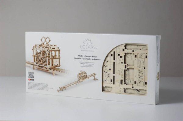 Tram – Puzzle 3d Mécanique en bois – Ugears France + 9