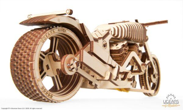 Moto VM-02 Ugears – Puzzle 3d en bois + 4