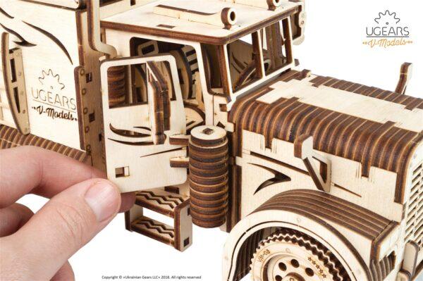 Poids-Lourd VM-03 Ugears – Puzzle 3d en bois + 1