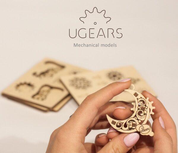 U-Fidget Gearsmas – Puzzle 3d Mécanique en bois – Ugears France + 7