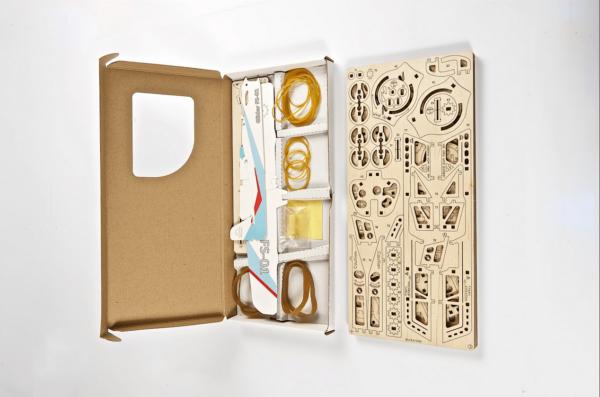 Aéro-Lanceur-Ugears-puzzle 3d mécanique en bois-4