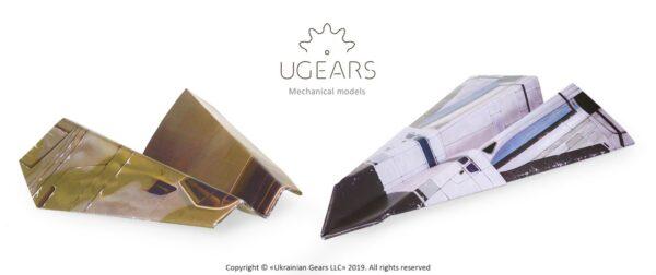 Aéro-Lanceur Ugears – Puzzle 3d en bois + 13