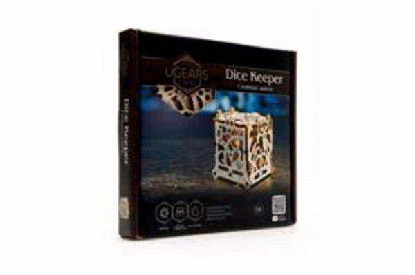 """Dice Keeper """"Gardien de Dés"""" – Puzzle 3D Mécanique en bois – Ugears Games France + 8"""