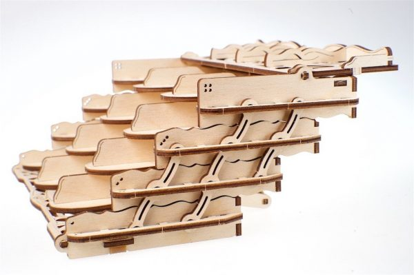 """Card Holder """"Coffret à Cartes"""" – Puzzle 3D Mécanique en bois – Ugears Games France + 10"""