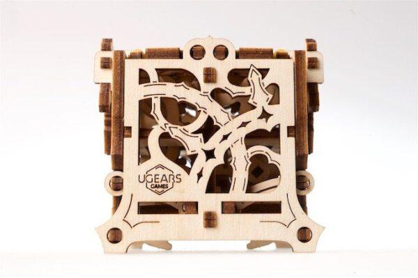 """Dice Keeper """"Gardien de Dés"""" – Puzzle 3D Mécanique en bois – Ugears Games France + 7"""
