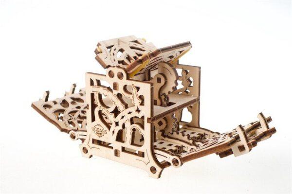 """Dice Keeper """"Gardien de Dés"""" – Puzzle 3D Mécanique en bois – Ugears Games France + 4"""