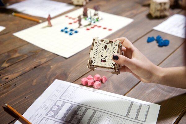 """Modular Dice Tower """"Tour à Dés Modulable"""" – Puzzle 3D Mécanique en bois – Ugears Games France + 5"""