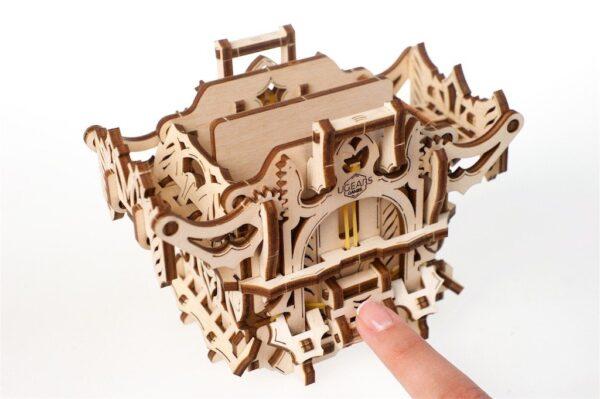 """Modular Dice Tower """"Tour à Dés Modulable"""" – Puzzle 3D Mécanique en bois – Ugears Games France + 9"""