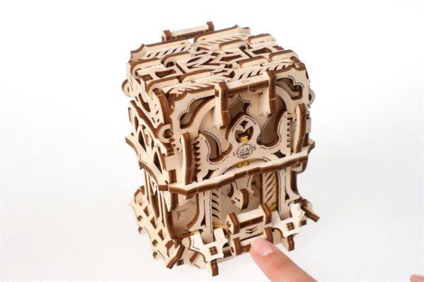 """Modular Dice Tower """"Tour à Dés Modulable"""" – Puzzle 3D Mécanique en bois – Ugears Games France + 7"""