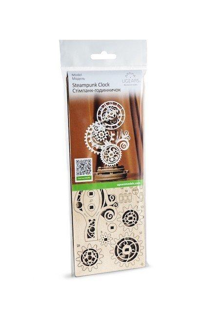 Horloge Steampunk Ugears – Puzzle 3d en bois + 7