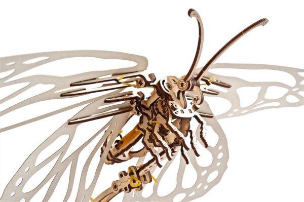 Papillon Ugears – Puzzle 3d en bois + 7