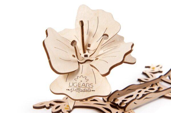 Papillon Ugears – Puzzle 3d en bois + 8