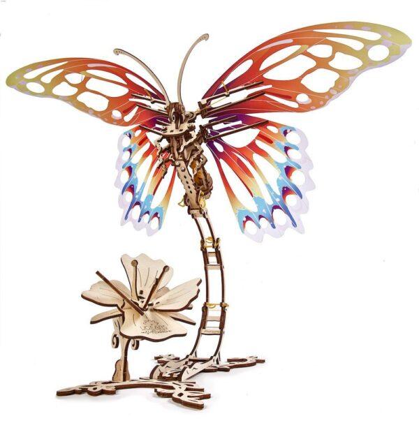 Papillon Ugears – Puzzle 3d en bois