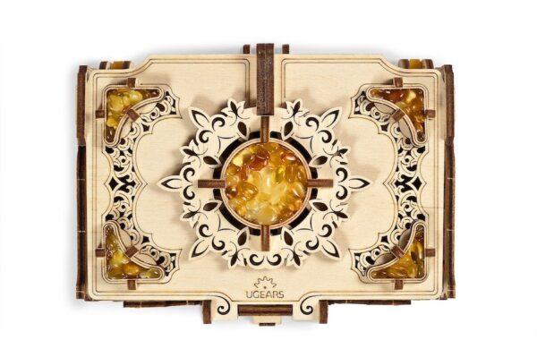 Boîte Ambre Ugears – Puzzle 3d en bois