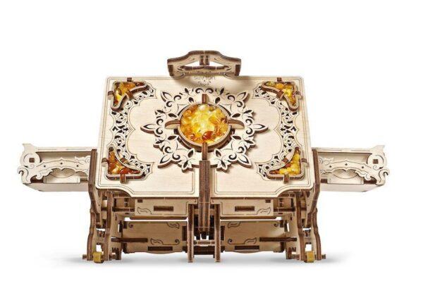 Boîte Ambre Ugears – Puzzle 3d en bois + 1