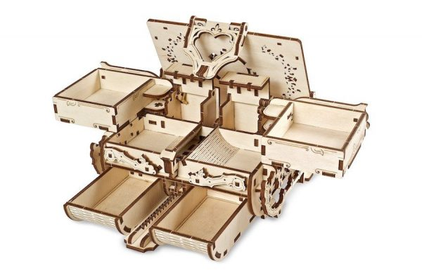 Boîte Ambre Ugears – Puzzle 3d en bois + 3