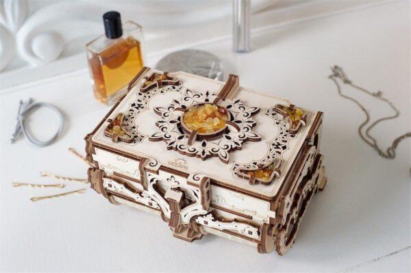 Boîte Ambre Ugears – Puzzle 3d en bois + 8