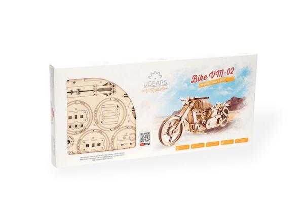 Moto VM-02 – Puzzle 3d Mécanique en bois – Ugears France