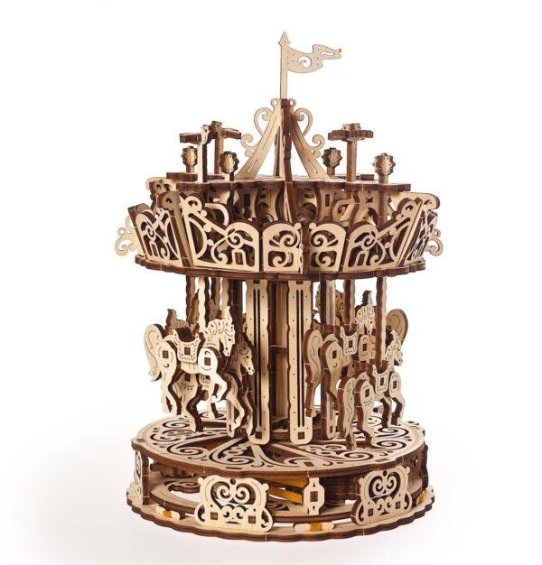 Carrousel Ugears – Puzzle 3d en bois