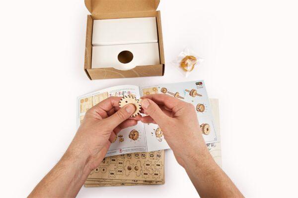 Compteur STEM Ugears – Puzzle 3d en bois + 7