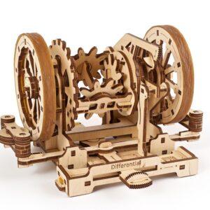 Différentiel STEM Ugears – Puzzle 3d en bois