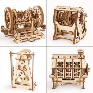STEM Ugears – Puzzle 3d en bois