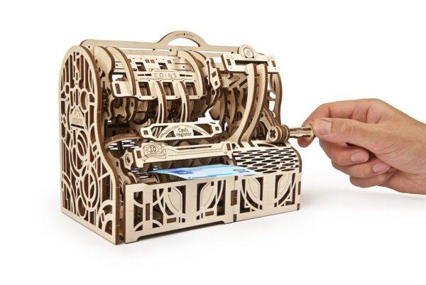 Caisse Enregistreuse Ugears – Puzzle 3d en bois + 2