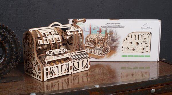 Caisse Enregistreuse Ugears – Puzzle 3d en bois + 10