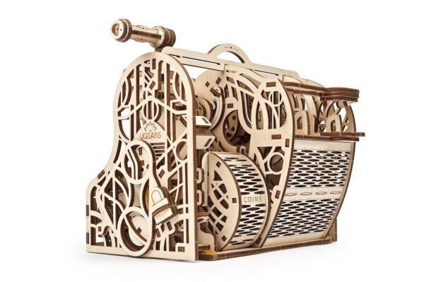 Caisse Enregistreuse Ugears – Puzzle 3d en bois + 4