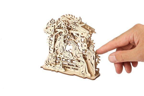 Crèche Ugears – Puzzle 3d en bois3