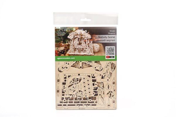 Crèche Ugears – Puzzle 3d en bois + 2