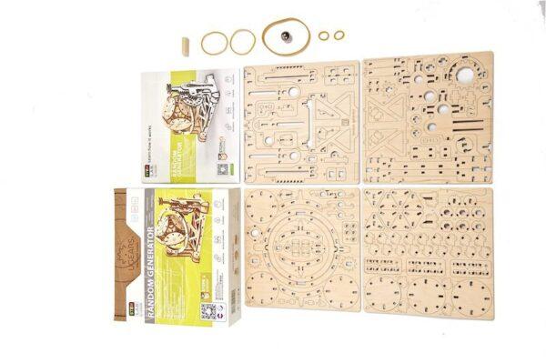 Générateur Aléatoire STEM Ugears – Puzzle 3d en bois + 3