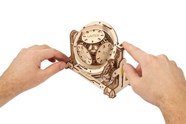 Générateur Aléatoire STEM Ugears – Puzzle 3d en bois + 6