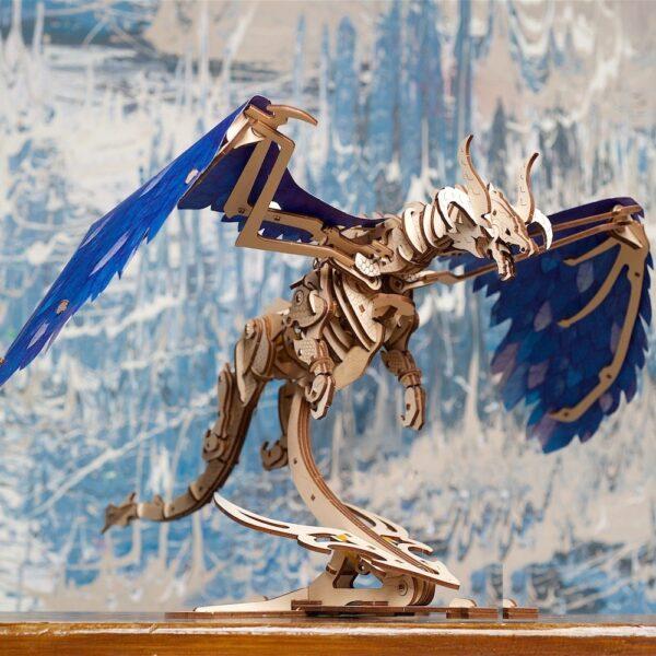 Dragon Tempête Ugears – Puzzle 3d en bois + 1