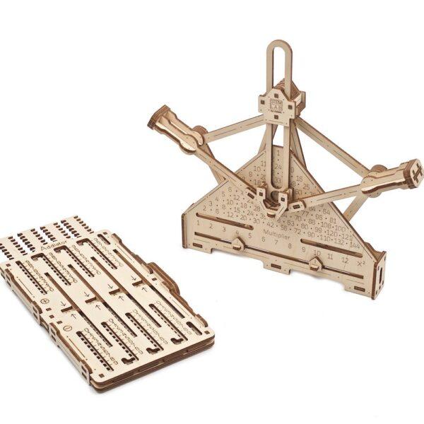 Kit Arithmétique STEM Ugears – Puzzle 3d en bois + 1