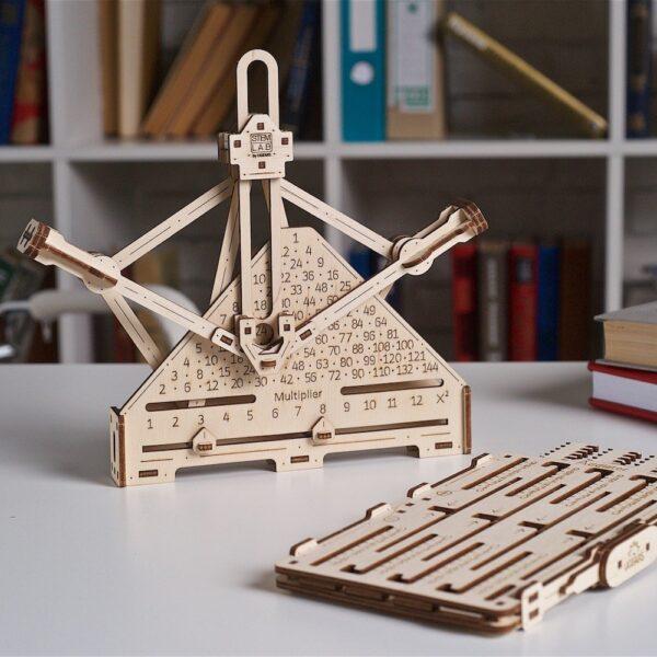 Kit Arithmétique STEM Ugears – Puzzle 3d en bois + 8