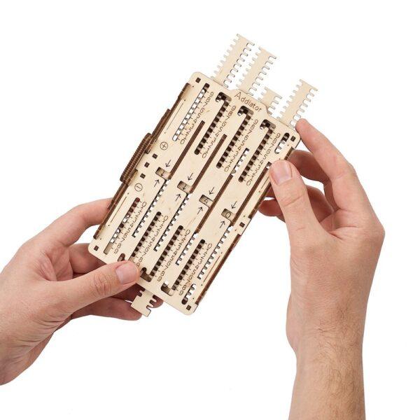 Kit Arithmétique STEM Ugears – Puzzle 3d en bois + 6