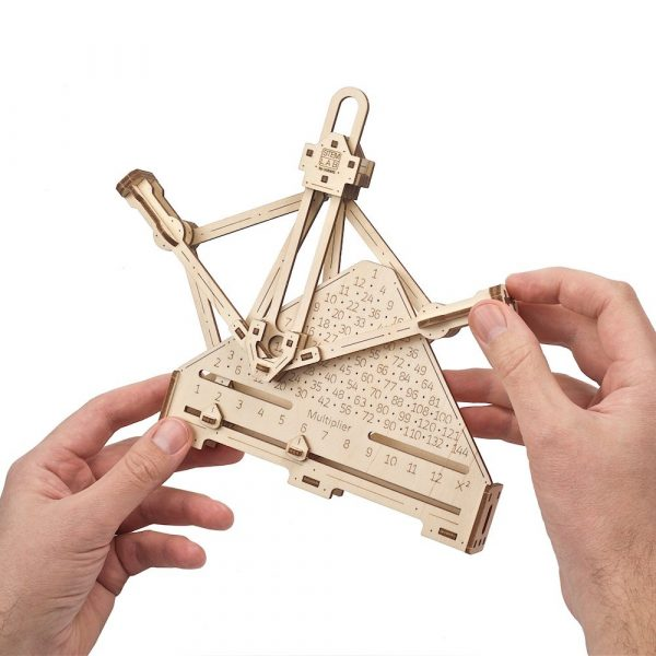 Kit Arithmétique STEM Ugears – Puzzle 3d en bois + 5