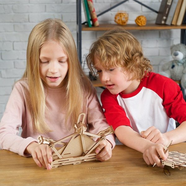 Kit Arithmétique STEM Ugears – Puzzle 3d en bois + 3