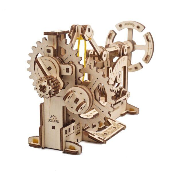 Tachymètre STEM Ugears – Puzzle 3d en bois + 7