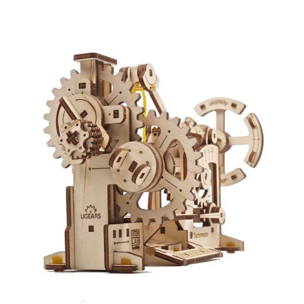 Tachymètre STEM Ugears – Puzzle 3d en bois + 4